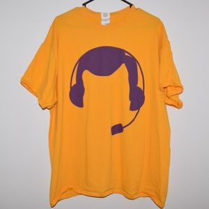 Rare LA Los Angeles Lakers Chick Hearn Graphic Tee